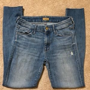 Mother The Looker Shake Well Jeans, size 26